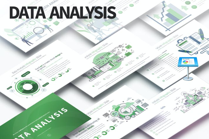 Thumbnail for Data Analysis - Keynote Infographics Slides