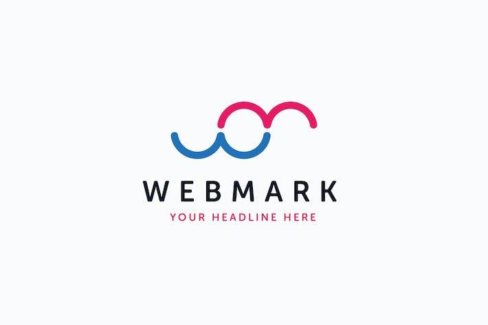 Thumbnail for Web Mark Logo W M Letter Template