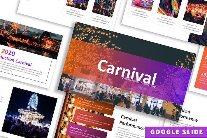 Карнавал - бизнес Google слайд Шаблон
