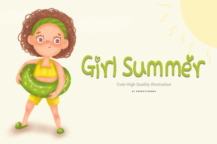 Thumbnail for Illustration 05 - Girl Summer