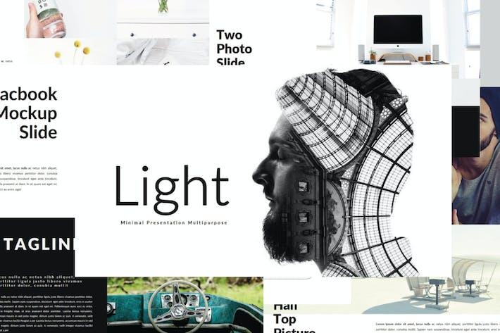 Thumbnail for Lichtquellen | Keynotevorlage