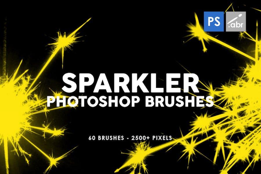 60 Sparkler Photoshop Stamp Brushes