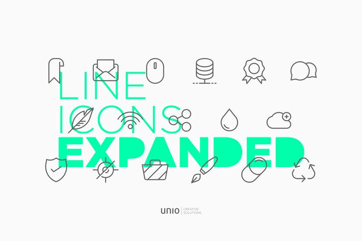 Cover Image For Line Icons Expanded