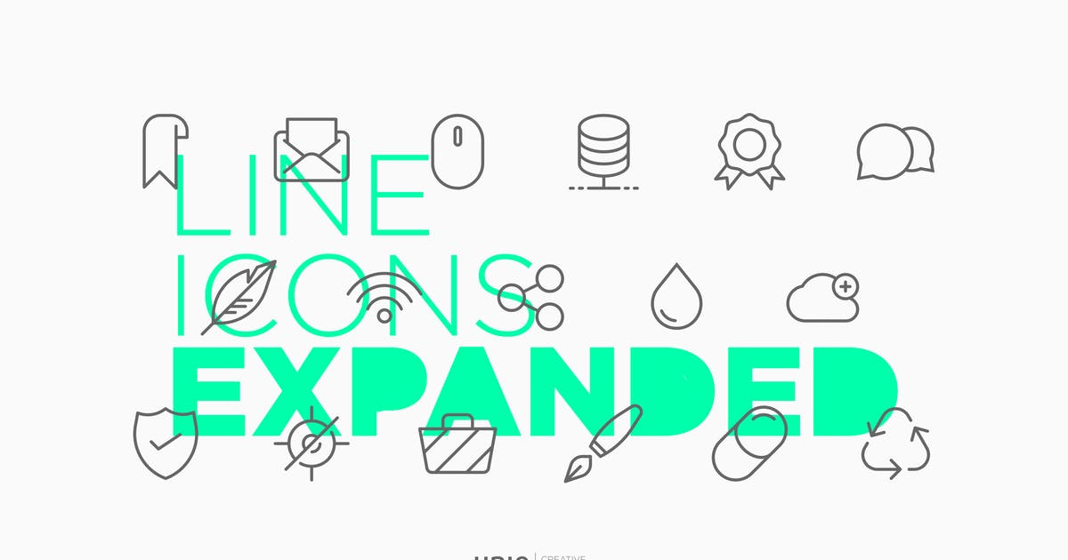 Download Line Icons Expanded by UnioCS