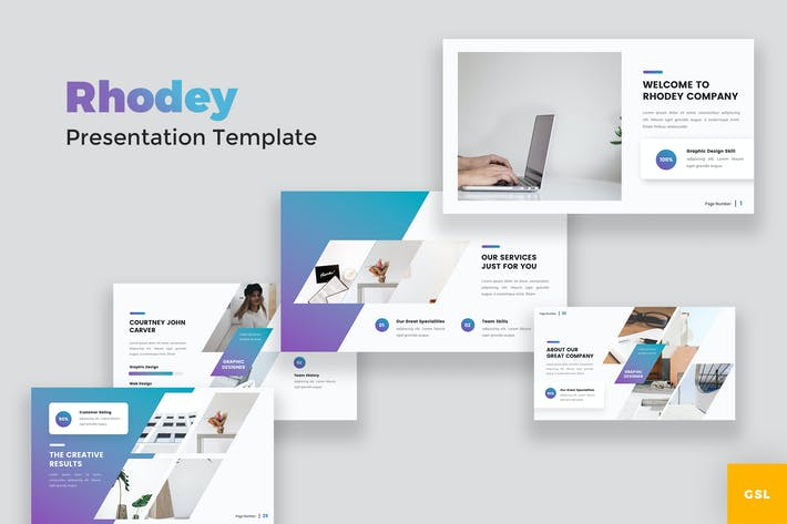 Creative Modern Google Slides Template