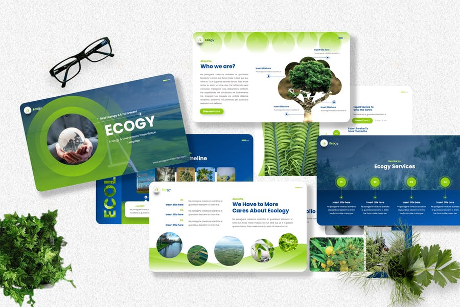 Ecogy - Ecology & Environment Powerpoint Template
