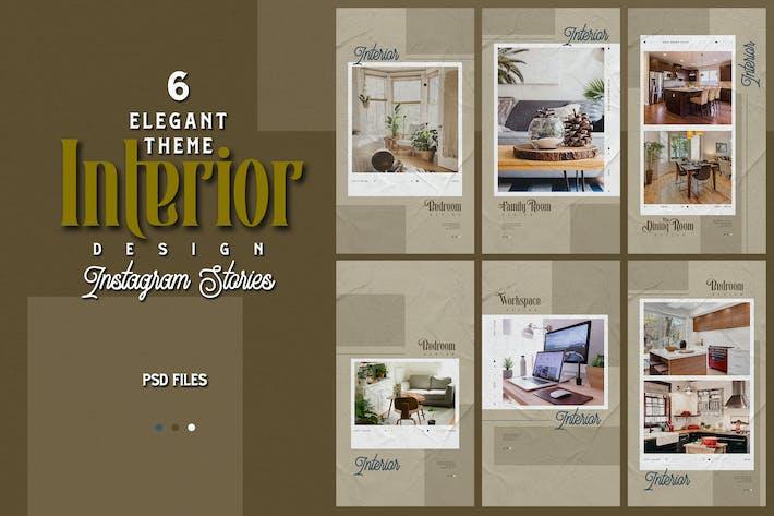 Thumbnail for Elegant Theme - Interior Design Instagram Stories