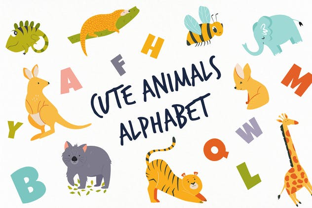 Alphabet Animals for Little Ones - product preview 5