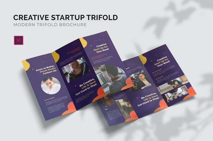 Thumbnail for Creative Start Up - Trifold Brochure