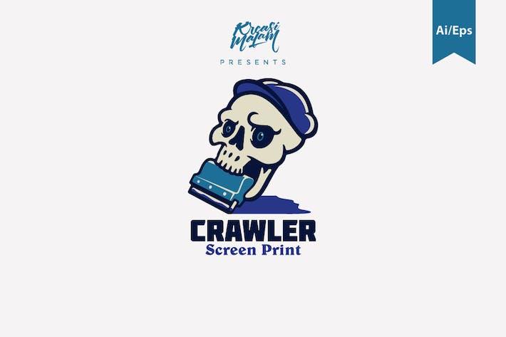 Thumbnail for Crawler Logo Template