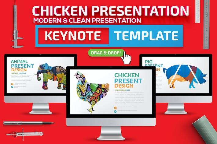 Презентация Keynote доклада курицы