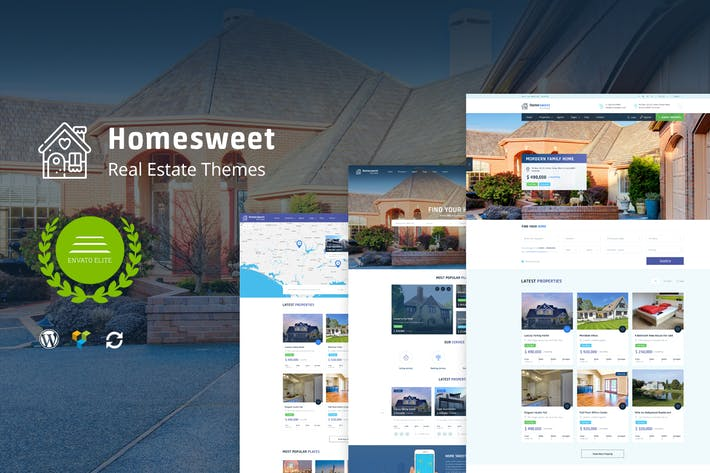 Thumbnail for HomeSweet - Real Estate WordPress Theme