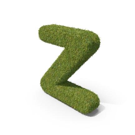 Grass Kleinbuchstabe Z