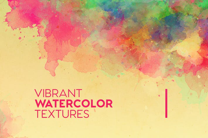 Thumbnail for Vibrant Watercolor Textures