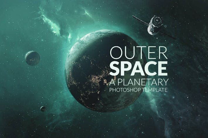 Thumbnail for Outer Space Planetary Template
