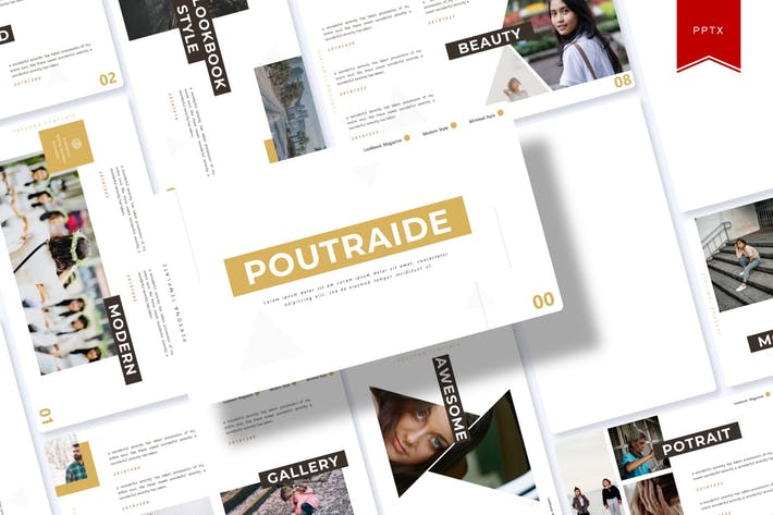 Thumbnail for Poutraide | Powerpoint Template