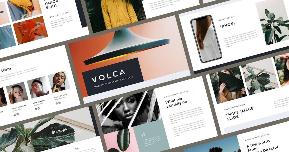 Download Volca Keynote Template by BervisualStd