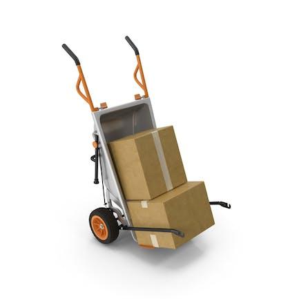 WORX Aerocart Cart mit Kartonschachtel