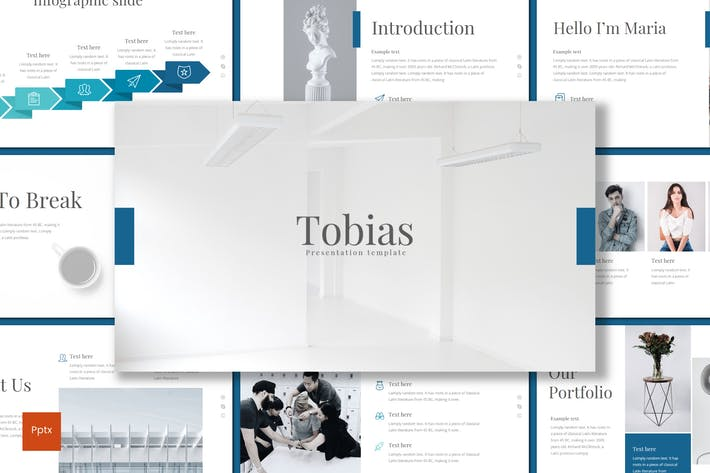 Cover Image For Tobias - Powerpoint Template