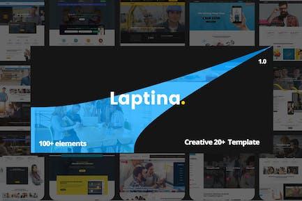 Laptina - Creative HTML Multipurpose Template
