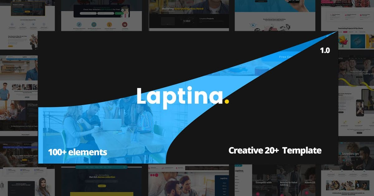 Download Laptina - Creative HTML Multipurpose Template by paul_tf