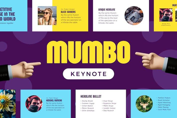 Thumbnail for Mumbo — Keynote Presentation Template