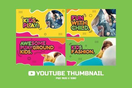 Kinder spielen YouTube-Miniaturbild
