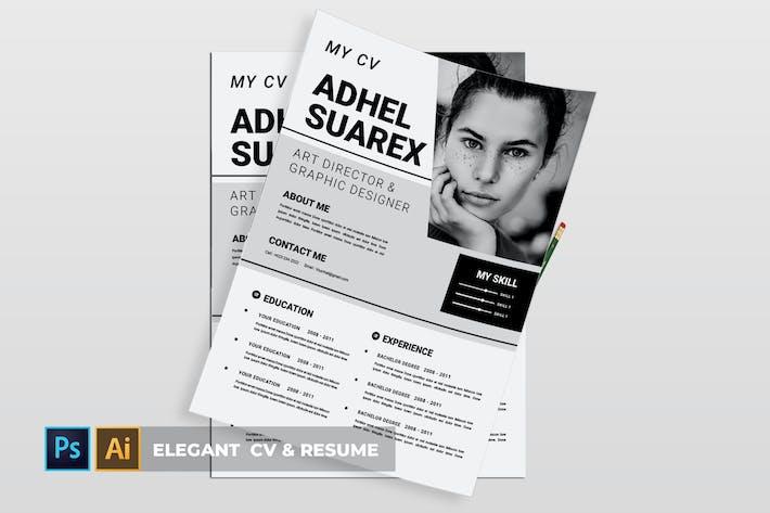 Thumbnail for Elegant | CV & Resume