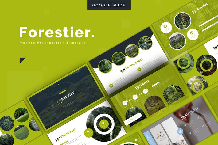Thumbnail for Forestier - Google Slides Template