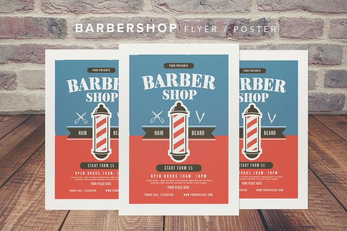 Thumbnail for Barbershop Flyer