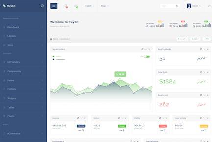 PlayKit - Web Application Kit & Dashboard