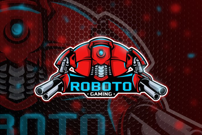 Thumbnail for Roboto - Mascot & Esport logo