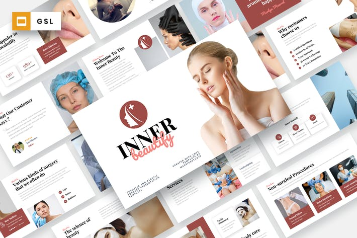 Inner Beautify - Cosmetic Google Slides Template