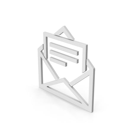 Symbol Letter With Paper