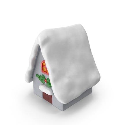 Weihnachtshaus Figur