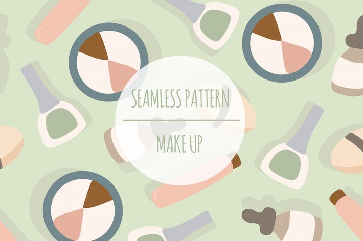 Make Up – Seamless Pattern