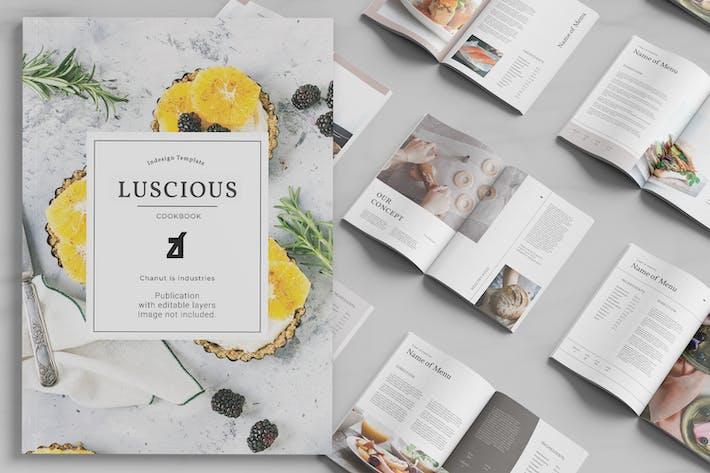 Livre de cuisine succulent