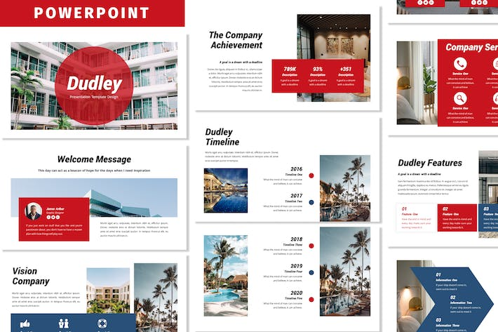 Thumbnail for Dudley - Business Powerpoint Template