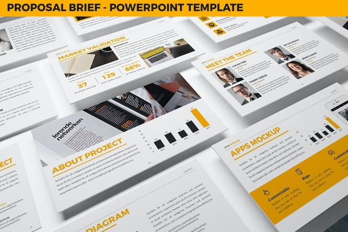 Thumbnail for Proposal Brief Powerpoint Template