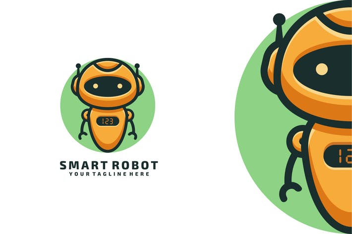 Thumbnail for SMART ROBOT LOGO TEMPLATE
