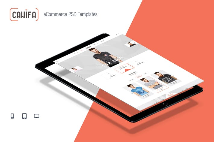 Thumbnail for Canifa - eCommerce PSD Templates