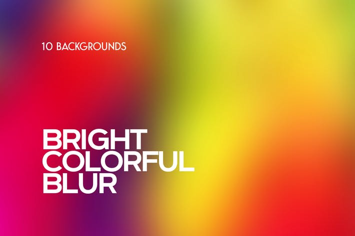Thumbnail for Bright Blur. Colorful Blurred Backgrounds