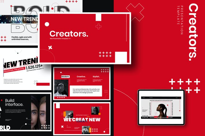 Creator Creative - Powerpoint Agency Corporate