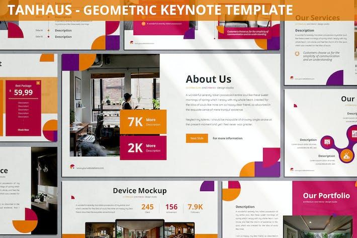 Tanhaus - Geometric Keynote Template
