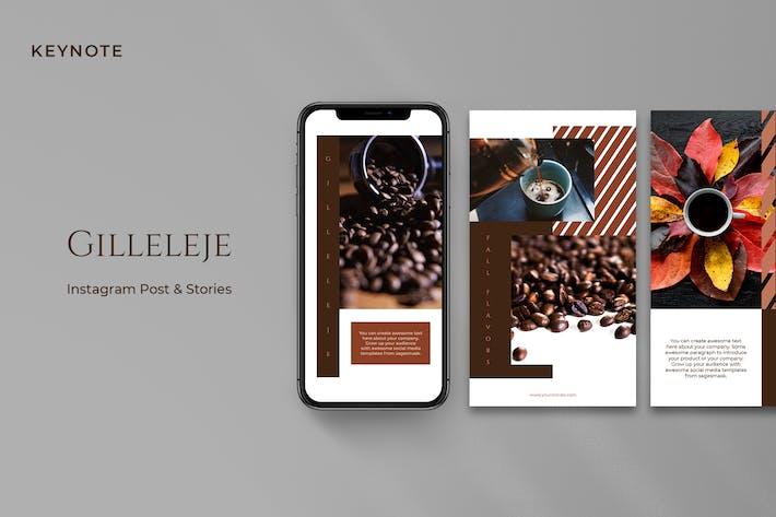 Thumbnail for Gilleleje Keynote Instagram Post & Stories