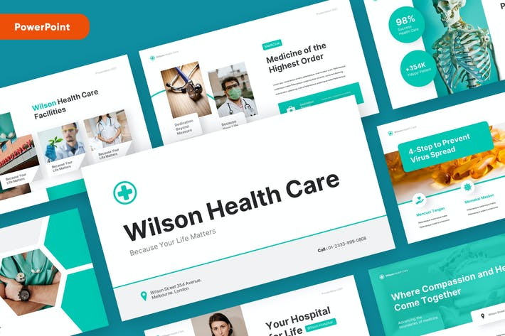WILSON - Medical and Health Powerpoint Template