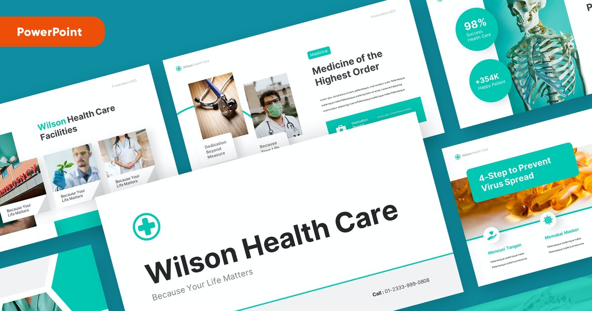Download WILSON - Medical and Health Powerpoint Template by rgbryand