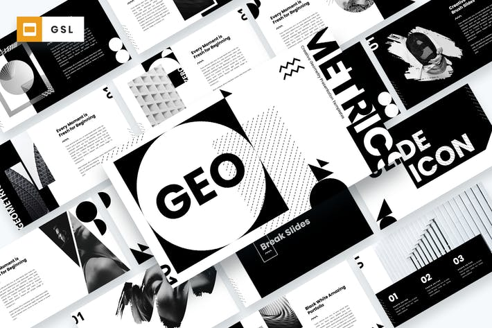 GEO - Creative Geometry Google Slides Template