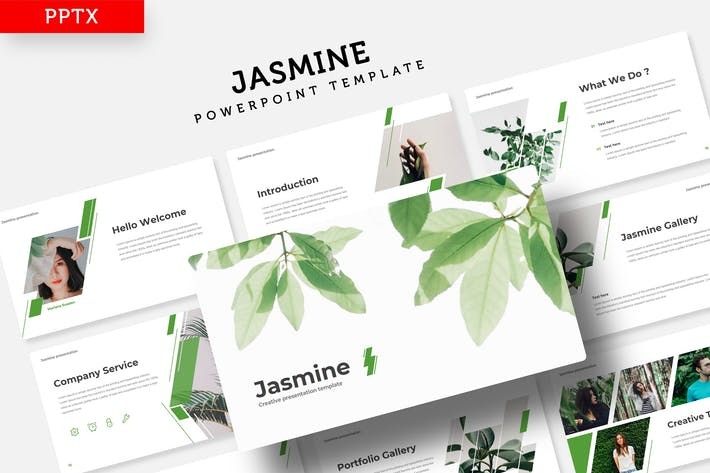 Jasmine - Plantilla de Powerpoint