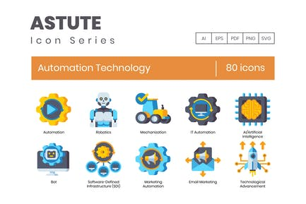 Automation Technology Icons